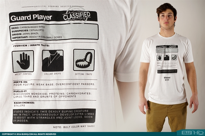 93brand Guard Player Dossier Tee